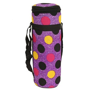 Kuber Industries Canvas 2 Ltr Water Bottle Cover (Purple) Set of 1 Pc