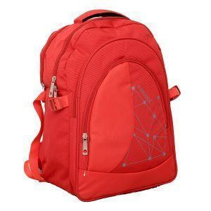 Kuber Industries 30 Ltrs School Bag, Backapack  (Red)-KI19013