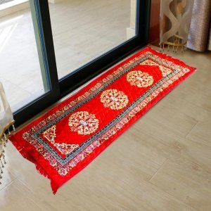Kuber Industries Bed Side Runner,Floor Runner,Kitchen Mat In Velvet Material  (6*2 Feet) (Code-01)