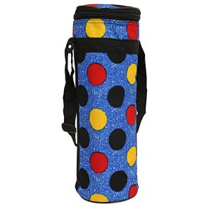 Kuber Industries Canvas 1 Ltr Water Bottle Cover (Blue) Set of 1 Pc