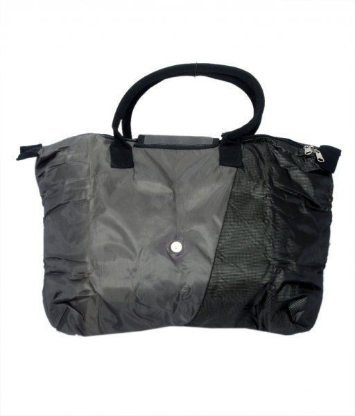 Kuber Industries Folding Shopping Bag , Travelling bag in Rexine material (Waterproof)