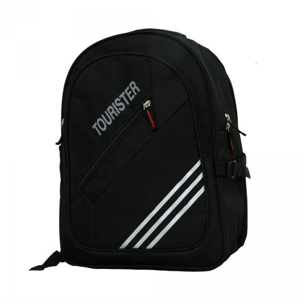 Kuber Industries Tourister Black Casual Bag, Backpack