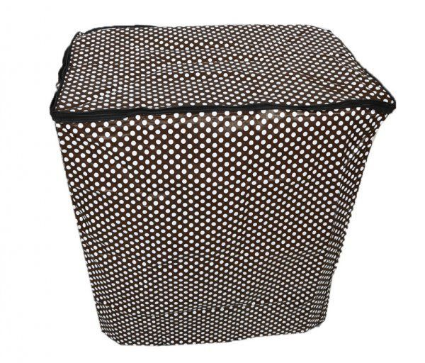 """Kuber Industries Waterproof & Dustproof Washing Machine Cover for Semi-automatic 6.5Kg Model (Polka Dots) """