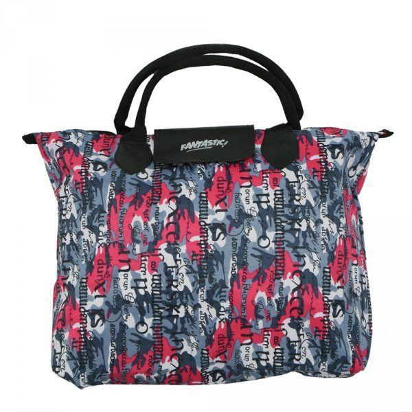 Kuber Industries Waterproof Foldable Shopping Handbag, Travel Bag (Color & Print may vary as per availability)