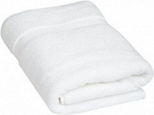 """Kuber Industries Cotton Bath Towel  (27*54 Inches White) """