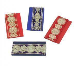 Kuber Industries Shaadi Money Envelopes - Pack of 4 - Designer Series - Assorted colours
