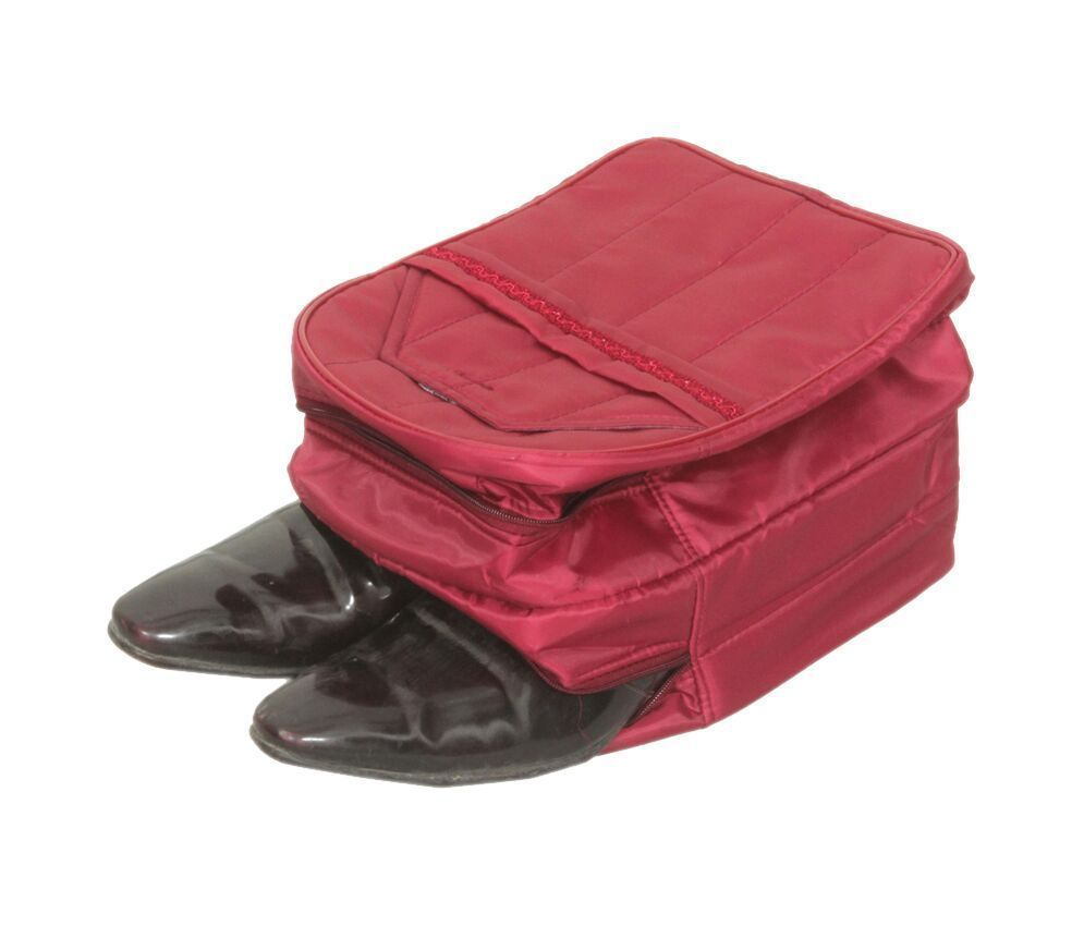 """Kuber Industries Shoe Cover in heavy Parachute Material (Maroon) """