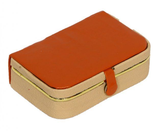 Kuber Industries Ring Organiser With Rexine Coated (Hard Board Material)