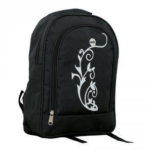 Kuber Industries Black School Bag, Tution Bag Backpack