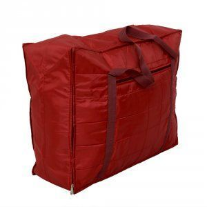 Kuber Industries Jumbo Attachi Bag in Soft Parachute Material, Blanket Cum Suitcase Bag, Storage Bag