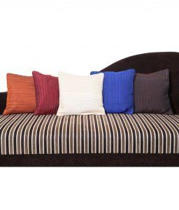 Kuber Industries Premium Quilted Cushion Cover Set of 5 pcs  ( 16*16 inches)