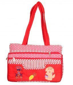 Kuber Industries Mama's Bag, Baby Carrier Bag, Diaper Bag, Travelling Bag (Folding Pattern)