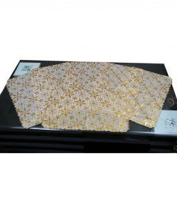 Kuber Industries Place Mats Set of 6 Pcs in Virgin Viny Soft Fabric(Print might vary according to availability)