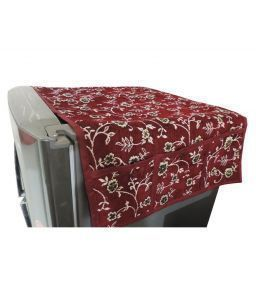 Fridge Top Cover (Floral Print)