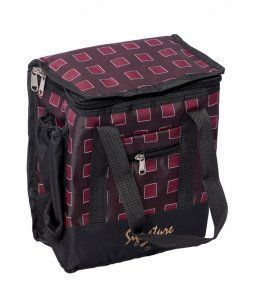 Kuber Industries Insulated Lunch Bag (Canvas)(colour & Print might vary according to availability)