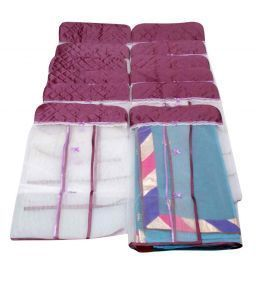 Hanging Saree Cover Set of 12 Pcs