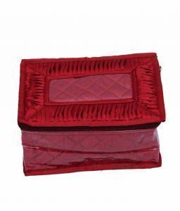 Quilted Satin Make Up Kit