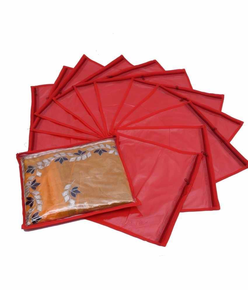 Special Combo, 12 pcs of Single Saree Cover, 12 pcs of Bow Saree Cover