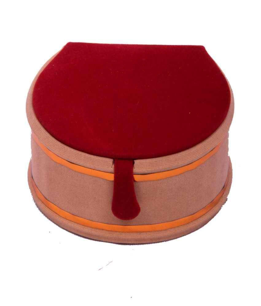 Designer Maroon Bangle Box