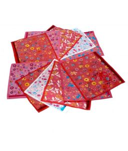 Non Wooven Saree Covers 12 Pcs Set
