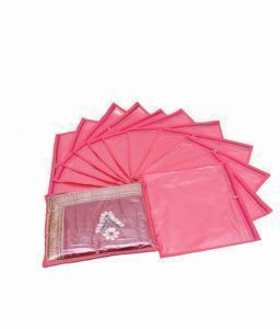 Non Wooven Saree Covers Set of 12 Pcs