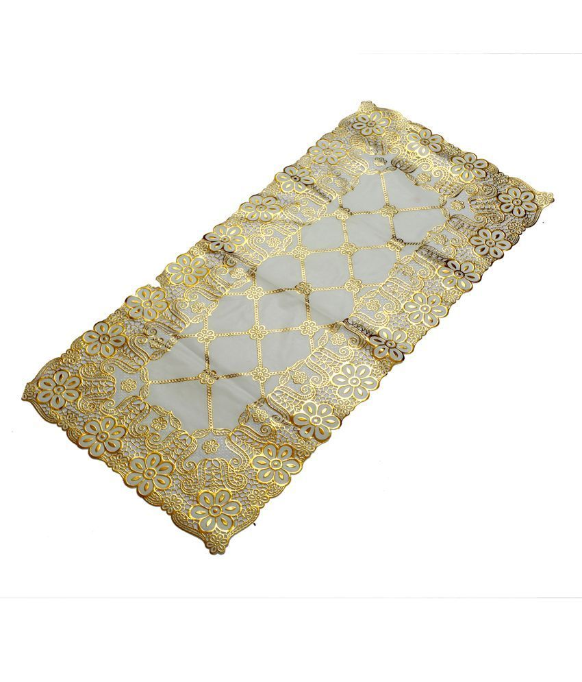 Kuber Industries Table Runner Virgin Vinyl (Soft Fabric)(Print might vary according to availability)